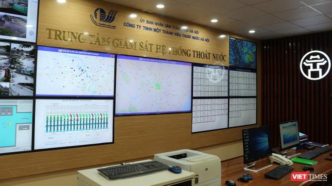 Hà Nội xử lý úng ngập qua hệ thống giám sát và phần mềm như thế nào? ảnh 4