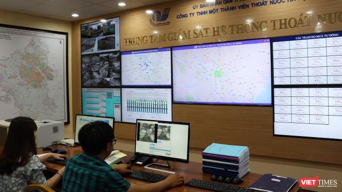 Hà Nội xử lý úng ngập qua hệ thống giám sát và phần mềm như thế nào? ảnh 3