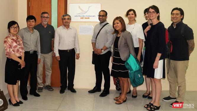 Hội Truyền thông số Việt Nam gặp gỡ đoàn công tác của Đại sứ quán Mỹ ảnh 8