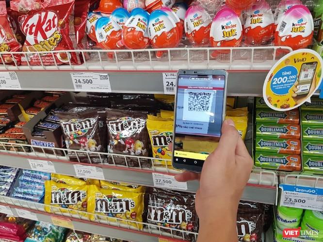 Trải nghiệm đi chợ thời 4.0 qua dịch vụ Scan&Go tại VinMart ảnh 1