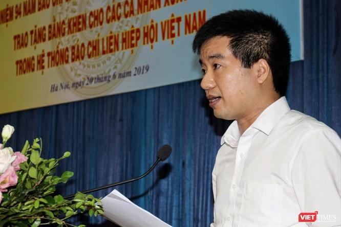 Nhà báo Lê Đăng Khoa (VietTimes) được trao Bằng khen của Liên hiệp các Hội KHKT Việt Nam ảnh 4