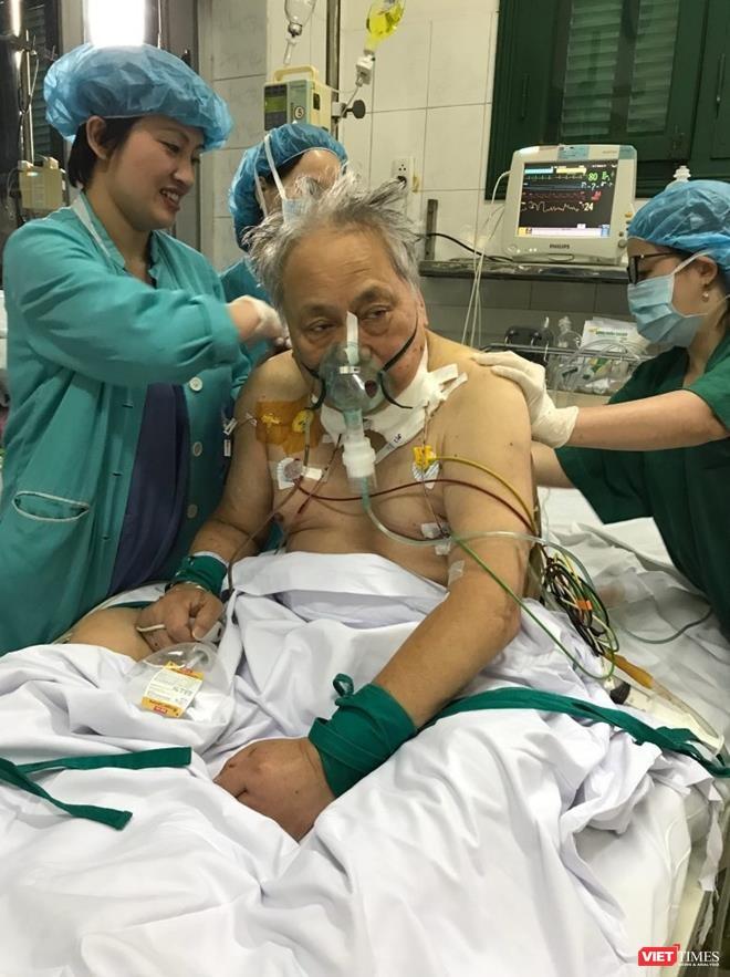 Tỷ phú người Đài Loan được các bác sĩ cả BV Việt Đức cứu sống