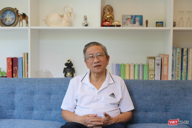 GS. Nguyễn Minh Thuyết - Tổng Chủ biên chương trình giáo dục phổ thông mới