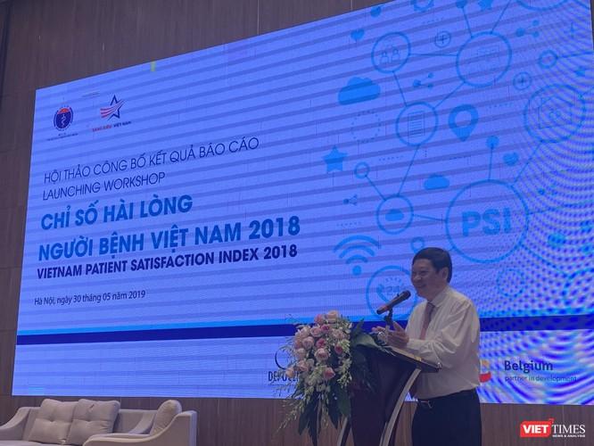 Thứ trưởng Bộ Y tế Nguyễn Viết Tiến yêu cầu ngành y tế phải không ngừng nâng cao chất lượng phục vụ