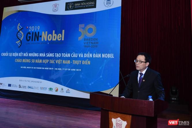 GS. Tạ Thành Văn - Hiệu trưởng Đại học Y Hà Nội, học trò người Việt Nam đầu tiên và xuất sắc của GS. Tasuku Honjo – người được trao giải Nobel Y sinh 2018