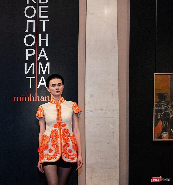 Trang phục thổ cẩm Việt trên đất Nga