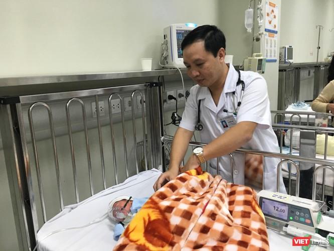 Quy trình chăm sóc trẻ ở Bệnh viện Nhi Trung ương được làm chặt chẽ