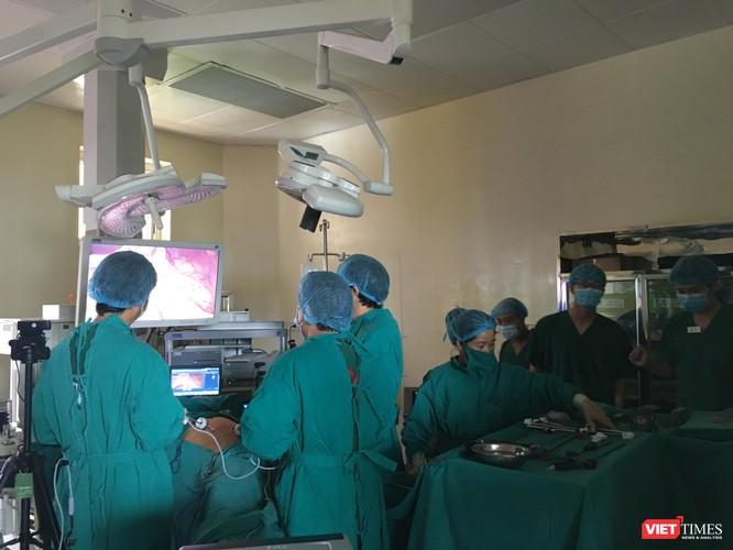 Ca phẫu thuật cho bệnh nhân ung thư tại BV K
