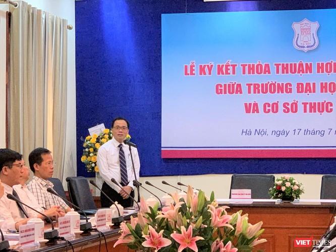 GS.TS. Tạ Thành Văn – Hiệu trưởng Trường Đại học Y Hà Nội - khẳng định mối quan hệ Viện – Trường mang ý nghĩa sống còn