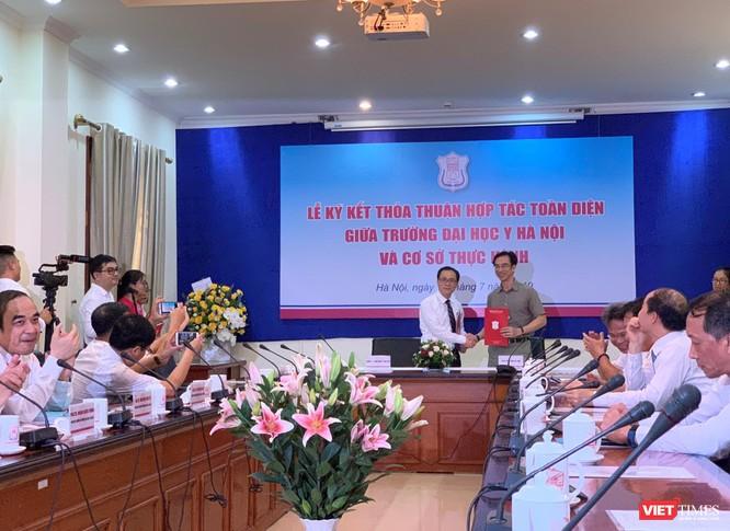 Ký kết hợp tác toàn diện với Bệnh viện Tim Hà Nội