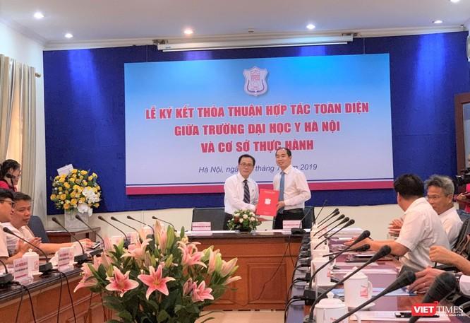 Ký kết hợp tác toàn diện với Bệnh viện đa khoa Xanh Pôn