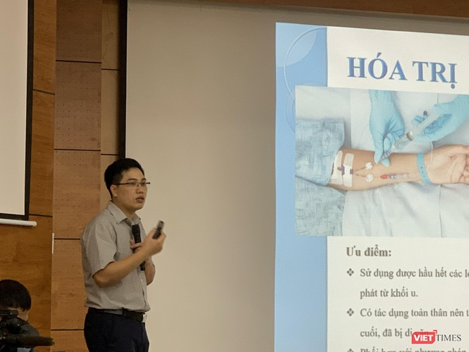 Ths. Thân Văn Thịnh - Bệnh viện ung bướu Hà Nội thông tin về tác dụng phụ trong điều trị ung thư