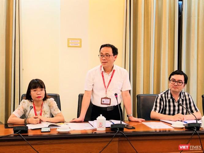 GS.TS. Tạ Thành Văn – Hiệu trưởng Trường Đại học Y Hà Nội - bày tỏ vinh dự khi được kết nối với các nhà khoa học tên tuổi của Nga