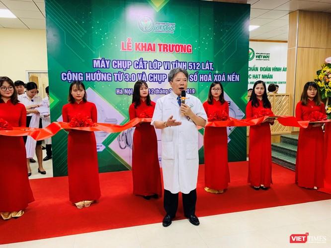 GS.TS. Trần Bình Giang – Giám đốc BV Việt Đức - cam kết không ngừng nâng cao chất lượng khám và điều trị