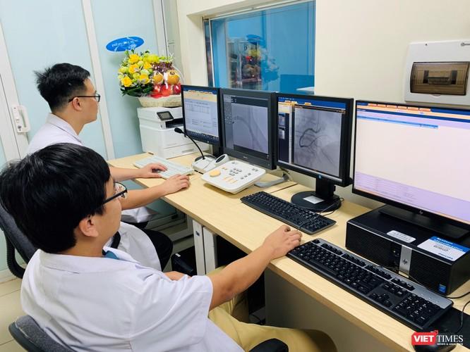 Máy chụp mạch số hóa xóa nền cho phép không phải phẫu thuật nhiều trường hợp
