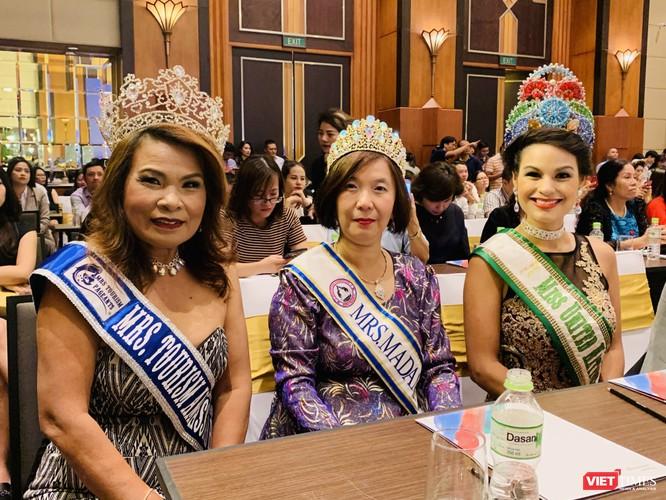 Các cựu hoa hậu Trung Quốc, Thái Lan, Indonesia