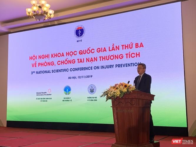 Thứ trưởng Bộ Y tế Nguyễn Trường Sơn cho biết tai nạn thương tích là nguyên nhân chính gây tổn thất lớn về người và tài sản cho xã hội