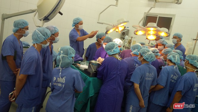 Sự phối hợp giữa Viện -Trường làm nên thành công cho nhiều ca ghép tạng xuyên Việt