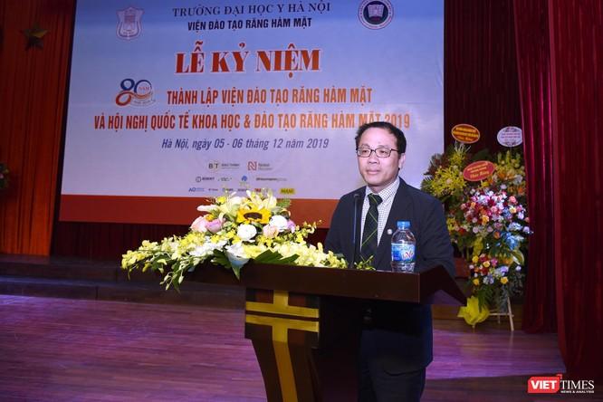 GS. TS Tạ Thành Văn - Hiệu trưởng Trường Đại học Y Hà Nội ánh giá cao những thành quả mà Viện Đào tao RHM đạt được trong 80 năm qua