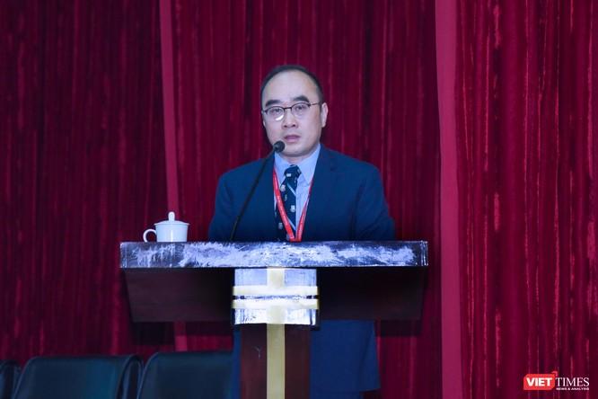 PGS.TS. Lê Minh Giang – Trưởng Phòng Quản lý Đào tạo Sau đại học của Trường Đại học Y Hà Nội - báo cáo kết quả đào tạo thời gian qua