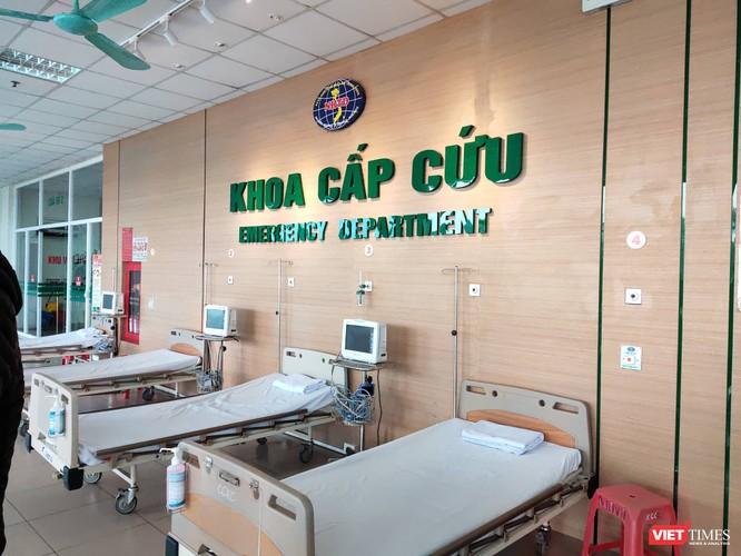 Khoa cấp cứu Bệnh viện Bệnh nhiệt đới Trung ương - nơi điều trị 3 bệnh nhân vừa được xuất viện