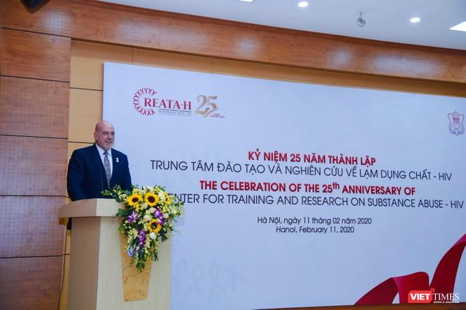 Giám đốc CDC Hoa Kỳ ở Việt Nam, TS. John Blanford, đánh giá cao vai trò của Trung tâm