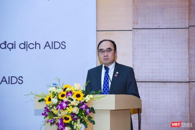 PGS.TS. Lê Minh Giang - Phó Giám đốc Trung tâm Đào tạo và Nghiên cứu về lạm dụng chất –HIV phát biểu khai mạc hội thảo