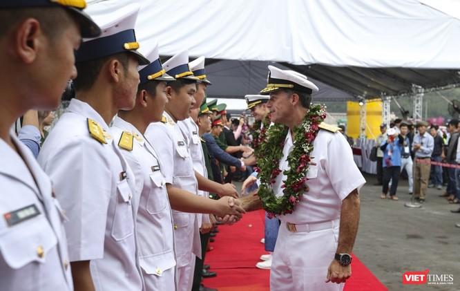 Thủy thủ trên đội tàu sân bay USS Theodore Roosevelt sẽ tham gia hoạt động nào tại Đà Nẵng? ảnh 2