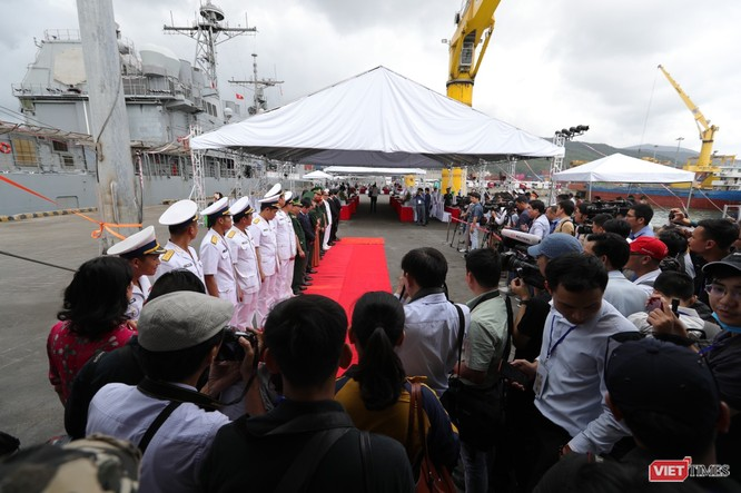 Thủy thủ trên đội tàu sân bay USS Theodore Roosevelt sẽ tham gia hoạt động nào tại Đà Nẵng? ảnh 3