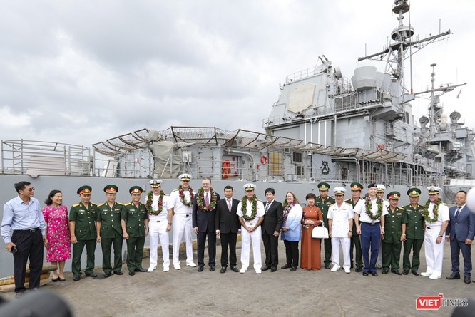 Thủy thủ trên đội tàu sân bay USS Theodore Roosevelt sẽ tham gia hoạt động nào tại Đà Nẵng? ảnh 5