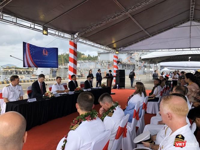 Thủy thủ trên đội tàu sân bay USS Theodore Roosevelt sẽ tham gia hoạt động nào tại Đà Nẵng? ảnh 4