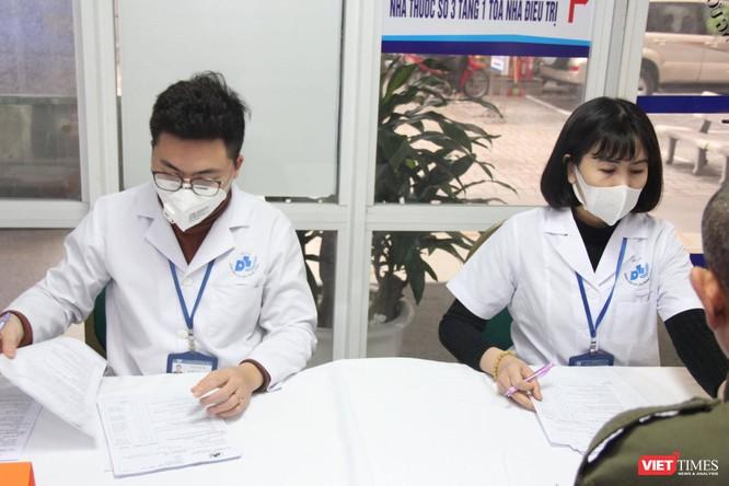 Nơi khai tờ khai y tế cho các bệnh nhân ở Bệnh viện Da liệu Trung ương