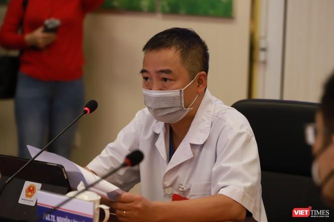 PGS.TS. Nguyễn Lân Hiếu - Giám đốc Bệnh viện Đại học Y Hà Nội tại buổi khai trương