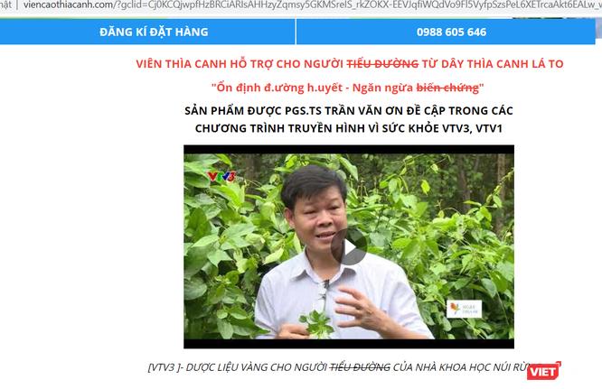 Nhiều trang mạng mạo danh nhà khoa học Trần Văn Ơn