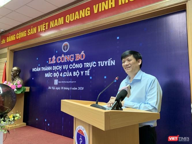 Thứ trưởng Thường trực Bộ Y tế Nguyễn Thanh Long