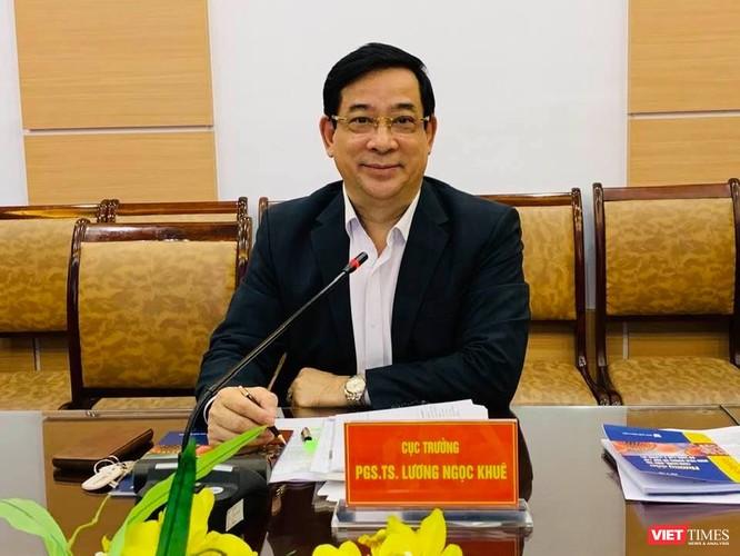 PGS.TS Lương Ngọc Khuê - Cục trưởng Cục Quản lý Khám, chữa bệnh đã thông tin chính thức về phương pháp gộp mẫu xét nghiệm
