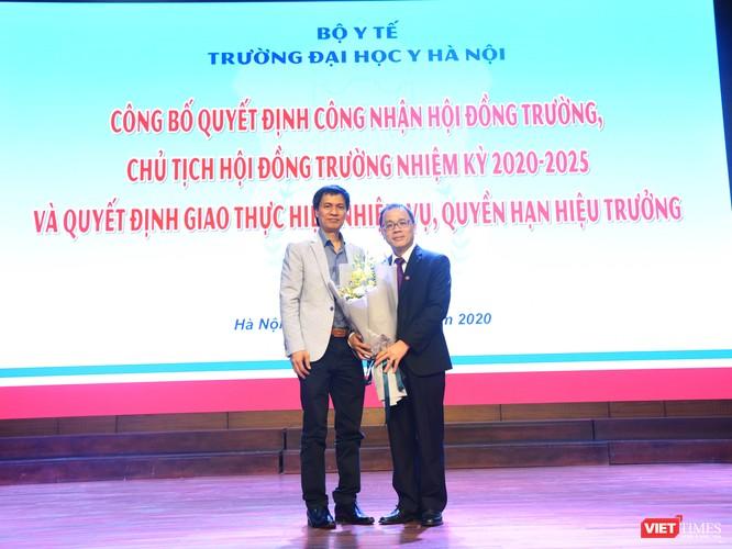 GS.TS. Tạ Thành Văn trở thành Chủ tịch Hội đồng trường đầu tiên của Trường Đại học Y Hà Nội ảnh 8