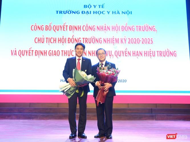 GS.TS. Tạ Thành Văn trở thành Chủ tịch Hội đồng trường đầu tiên của Trường Đại học Y Hà Nội ảnh 7