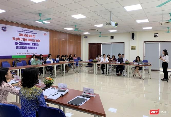 Các nhà khoa học tìm mọi cách để quản lý và điều trị bệnh không lây nhiễm ở Việt Nam hiệu quả nhất ảnh 7