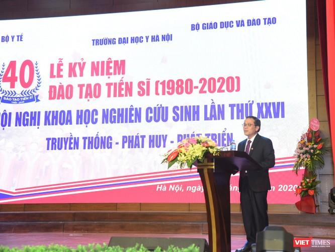 Sau 40 năm, Đại học Y Hà Nội đã đào tạo 1.440 tiến sĩ, cung cấp nguồn nhân lực tinh hoa cho nước nhà ảnh 1