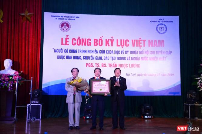 Kỷ lục gia Trần Ngọc Lương nhận danh hiệu Anh hùng Lao động ảnh 3