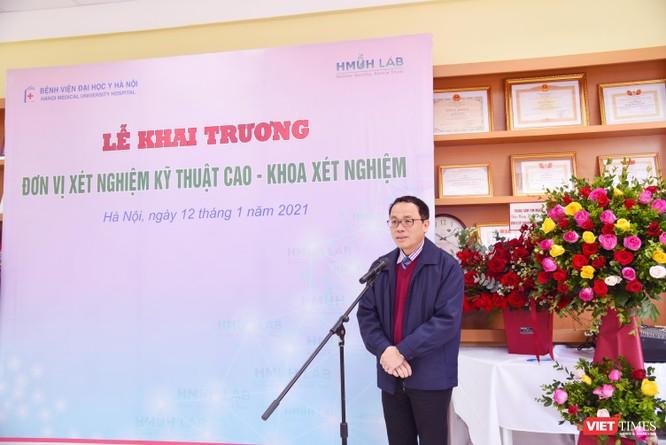 Bệnh viện Đại học Y Hà Nội khai trương Đơn vị Xét nghiệm Kỹ thuật cao, áp dụng công nghệ tiên tiến ảnh 1