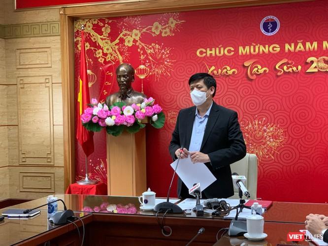 Thứ trưởng Bộ Y tế Nguyễn Trường Sơn: Tình hình dịch ở Hải Dương vẫn rất phức tạp, khó lường ảnh 1