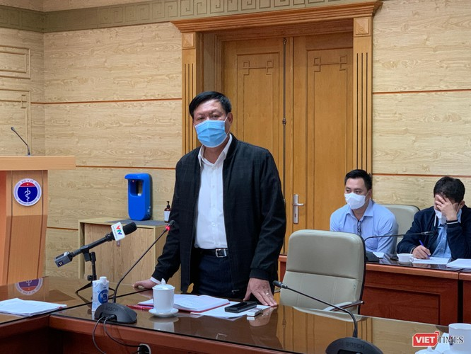 Thứ trưởng Bộ Y tế Nguyễn Trường Sơn: Tình hình dịch ở Hải Dương vẫn rất phức tạp, khó lường ảnh 3