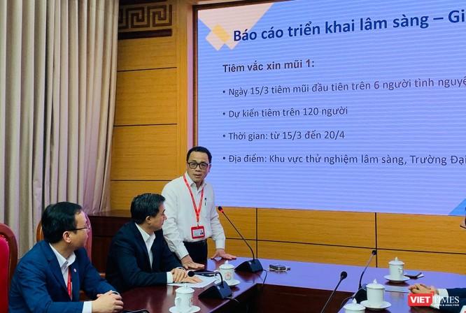 Chính thức tiêm thử nghiệm vaccine COVID-19 do Việt Nam nghiên cứu và sản xuất tại Đại học Y Hà Nội ảnh 1