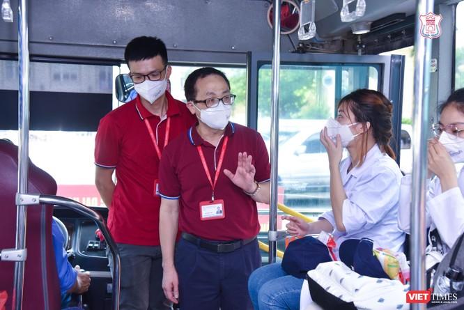 Trường Đại học Y Hà Nội điều thêm 60 cán bộ, sinh viên hỗ trợ vùng tâm dịch Bắc Ninh ảnh 5