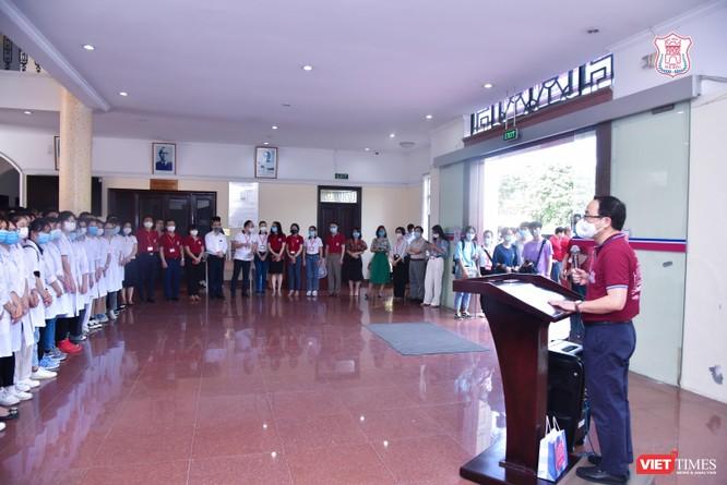 Trường Đại học Y Hà Nội điều thêm 60 cán bộ, sinh viên hỗ trợ vùng tâm dịch Bắc Ninh ảnh 1