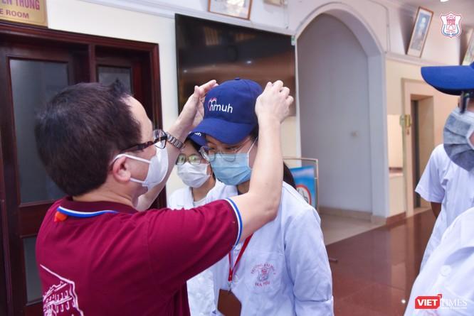 Trường Đại học Y Hà Nội điều thêm 60 cán bộ, sinh viên hỗ trợ vùng tâm dịch Bắc Ninh ảnh 2