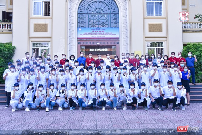 Trường Đại học Y Hà Nội điều thêm 60 cán bộ, sinh viên hỗ trợ vùng tâm dịch Bắc Ninh ảnh 4