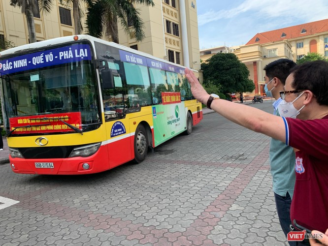 Lần thứ 3 trong 10 ngày, Trường Đại học Y Hà Nội đưa cán bộ, sinh viên chi viện tâm dịch Bắc Ninh ảnh 10